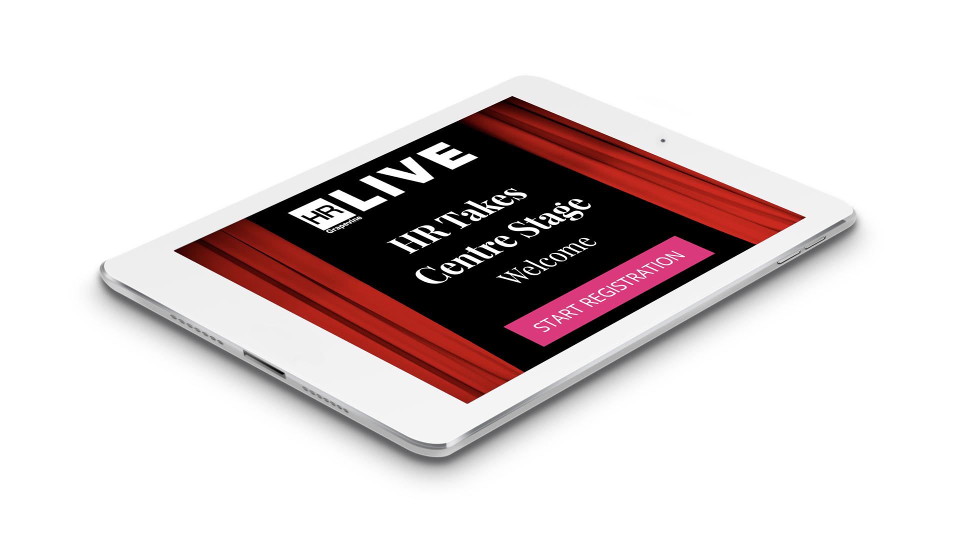 iPad Event App v1